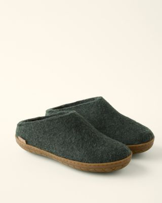 Glerups Wool Mule with Rubber Bottom