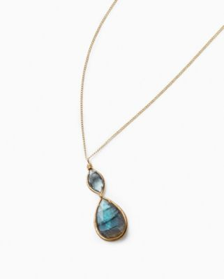 Dana Kellin Labradorite Pendant Necklace