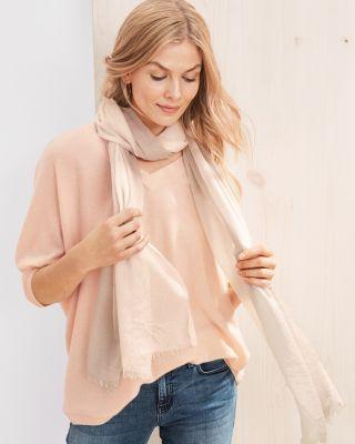 Cashmere Oversized V-Neck Sweater
