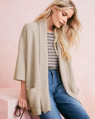 Oversized Cashmere Kimono Sweater