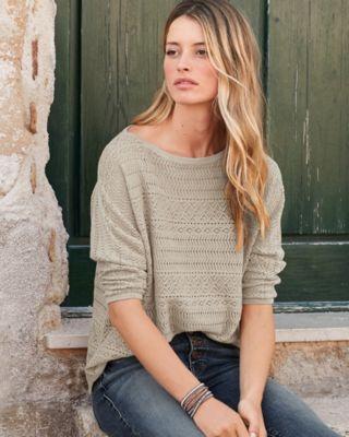 Easy Novelty-Stitch Sweater