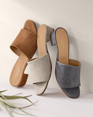 Lillian Heeled Slides