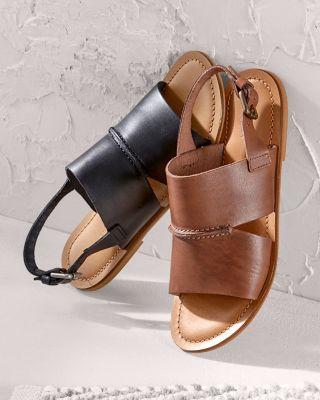 Alice Stitch-Detail Sandals