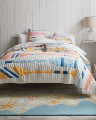 Hable Oars Quilt and Sham
