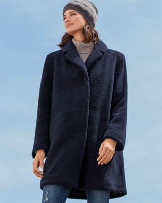 Velvet by Graham and Spencer Trishelle Faux-Sherpa Coat