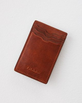 Trask Leather Cardholder