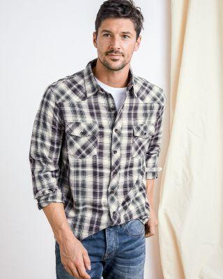 Ecoths Men's Plaid Shirt