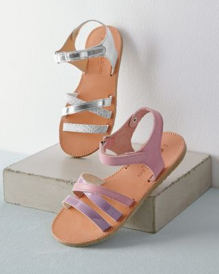 Girls' Strap-Detail Sandals