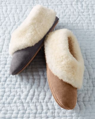 Jax and Bard Shearling Slippers
