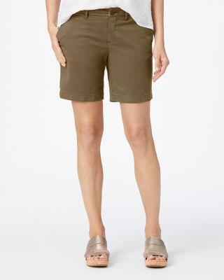 Salt-Washed Everyday Chino Shorts