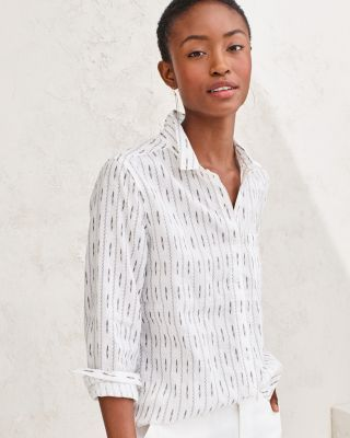 Linen Button-Down Shirt By Garnet Hill