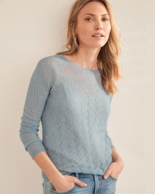 Featherweight Cashmere Pullover Sweater