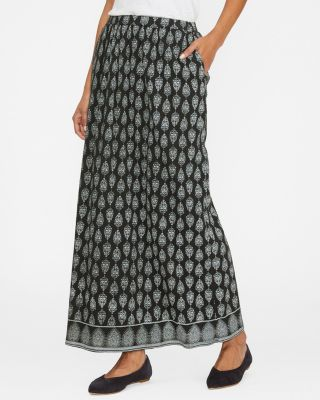 Essential Organic-Cotton Gauze Maxi Skirt