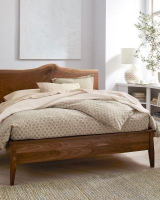 Astrid Floral Cotton &amp Linen Flannel Sham