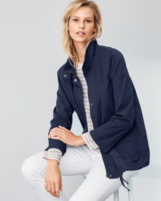 EILEEN FISHER A-Line Cargo Jacket