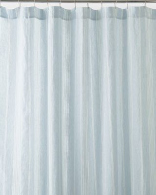 Linen Stripe Shower Curtain