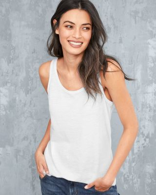 EILEEN FISHER Organic-Cotton Scoop-Neck Tank Petite