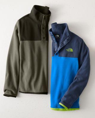 The North Face Boys' Glacier Quarter-Snap Jacket