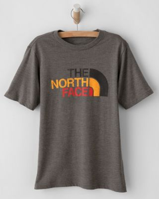 The North Face Boys' Short-Sleeve Tri-Blend Tee Shirt