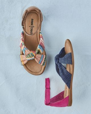 Kids' Minnetonka Etta Sandals