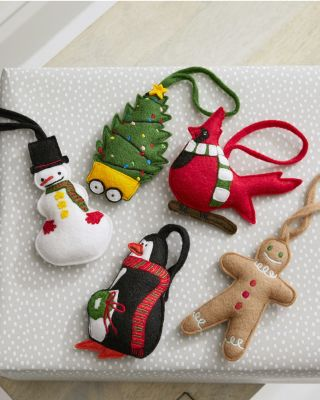 Hable Felted Ornaments