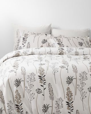 Signature High Line Floral Flannel Duvet Cover