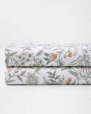 Audrey Paintbrush Cotton Flannel Sheets