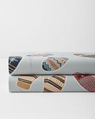 Fair Isle Mittens Cotton Flannel Sheets