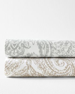 Wrinkle-Resistant Parisian Paisley Sateen Sheets