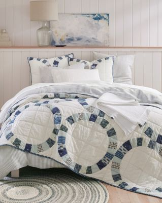 Hana Cotton Wedding Ring Quilt