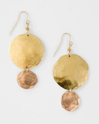 Robin Haley Layered Circle Earrings
