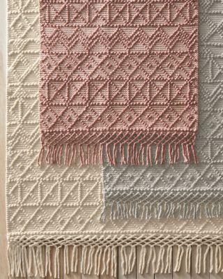 Wool Handwoven Jacquard Rug