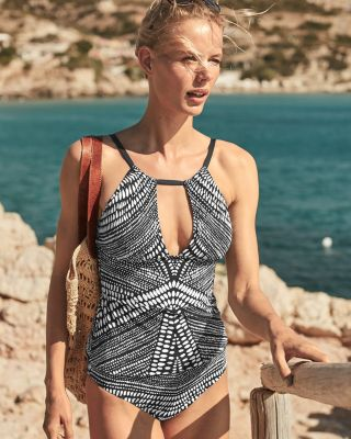 Kenneth Cole Find Tranquility Tankini Swimsuit