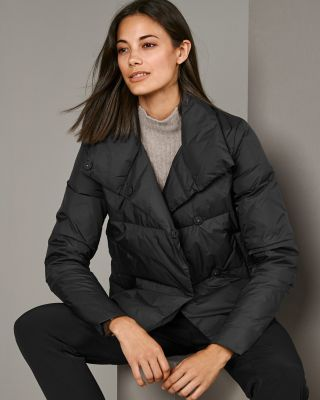Women's Cropped Packable Down Jacket