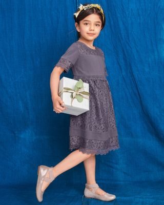 Girls' Evelyn Lace Dress