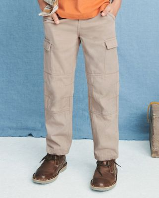 Boys' Straight-Leg Cargo Pants