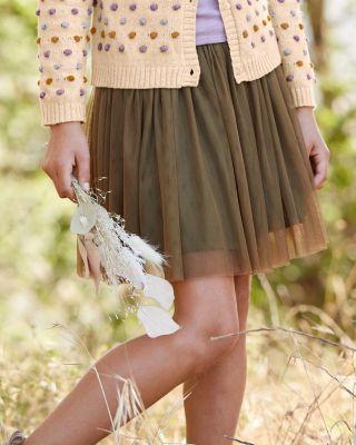Girls' Layered Tulle Skirt
