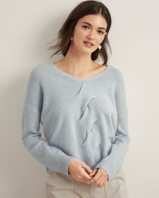 Twist-Cable Cashmere Sweater