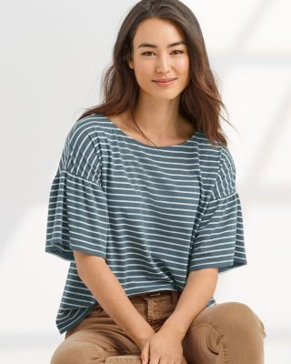 Essential Bell-Sleeve Tee Shirt