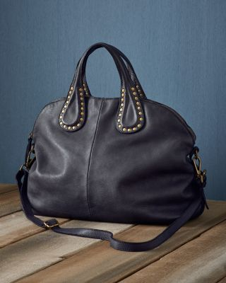 Adele Studded Hobo Bag