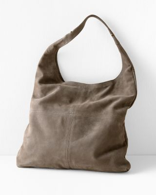 Elisa Seamed Shoulder Bag