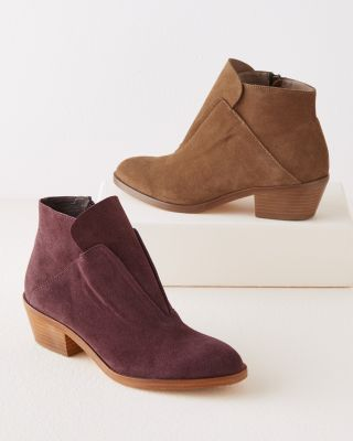 Bella Suede Ankle Boots