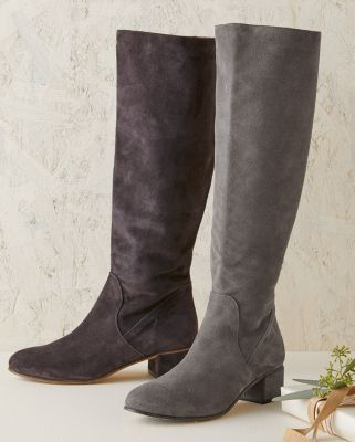 Samantha Women's Tall Suede Boots