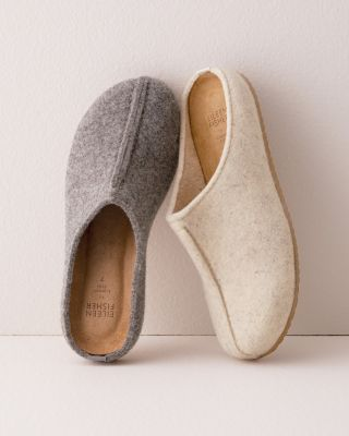 EILEEN FISHER Wool Mules Slippers