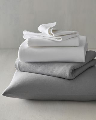 EILEEN FISHER Organic-Cotton & Cashmere Flannel Sheets