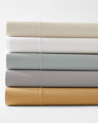 EILEEN FISHER Cotton Tumbled-Percale Sheets