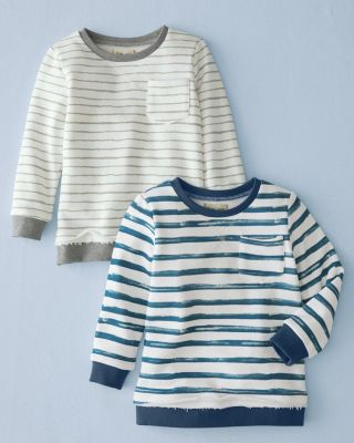 Me and Henry Boys' Striped Sweatshirt