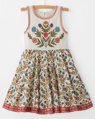 Girls' Lenore Dress by Pink Chicken