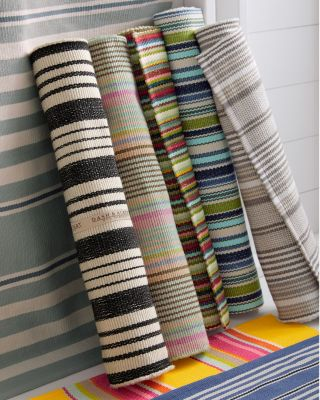Striped PET Indoor-Outdoor Rug by Dash and Albert
