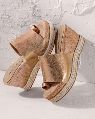Donald Pliner Janet Wedge Sandals